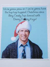 mature funny christmas vacation movie quote card by sewdandee