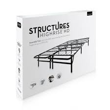highrise hd folding bed foundation by structures linenspa