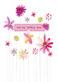 Flowers For Mum - greeting cards mother u0027s day cards felicity french illustration