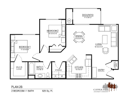 Partners In Building Floor Plans Coppertree Magna Floor Plan 2b American Housing Partners