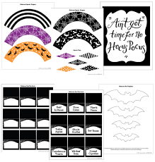 printables for boo tiful halloween party decor u2014 little luxuries loft