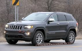jeep grand cherokee limited 2014 spied 2014 jeep grand cherokee caught completely exposed