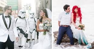 themed weddings 10 of the most epic geeky weddings bored panda