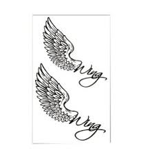 tattoo angel simple simple angel wings tattoo google search feathers wings draw