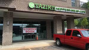 Zoes Kitchen Delivery Midtown Mediterranean Showdown Taziki U0027s Opens June 14 Near Zoes
