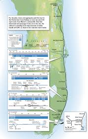 East Coast Florida Map by Trains Magazine East Coast Champ Trains Magazine