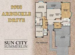 Sun City Summerlin Floor Plans 9933 Arbuckle Dr Las Vegas Nv 89134 Zillow