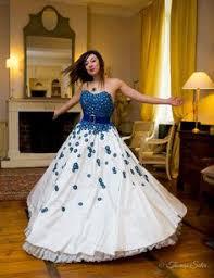 robe de mari e bleue robe de mariée bleu collection robe de mariée 2016 adventech