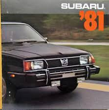 1978 subaru brat for sale subaru 1600 1800 sedan hardtop wagon hatchback brat sales brochure