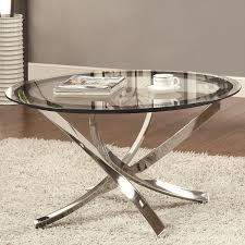 glass furniture amazon com coaster home furnishings modern contemporary round