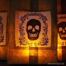 paper bag halloween luminaries halloween party luminaries u2013 free printable papertuesday