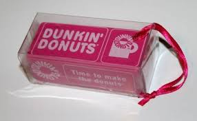 dunkin donuts ornaments 2008 2009 2010 coffee house collectibles