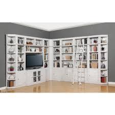 Bookcase Corner Unit House Boca 11pc Corner Library Bookcase Wall Unit In