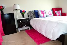 Gold And Blue Bedroom Real College Student Of Atlanta My New Room Pink And Blue