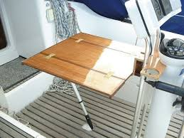 Cockpit Table For A Binnacle Practical Boat Owner