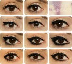 diffe eye shapes for makeup eye makeup eye shape cat eye