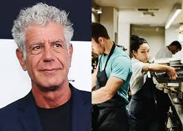 anthony bourdain anthony bourdain on weinstein john besh and meathead restaurant