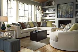 sectional sofa with oversized ottoman custom cushions sofas