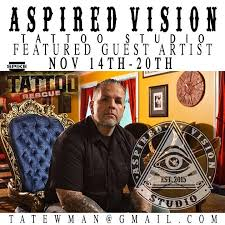 aspired vision tattoo shop guest artist joey tattoo bella arte