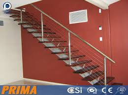 Wire Banister Stainless Steel Balcony Tension Wire Railing Or Cable Wire Fence