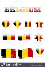 Belgia Flag Flags Belgium Flag Icon Stock Illustration I3008353 At Featurepics