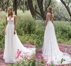 wedding dress sheer straps limor 2017 sheath wedding dresses v neck sheer
