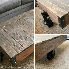 Wood Projects Coffee Tables by 35 Best Railroad Cart Coffee Table Images On Pinterest Cart