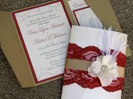 invitaciones para quinceanera ideas de invitaciones para quinceaneras color rojo 4 ideas para