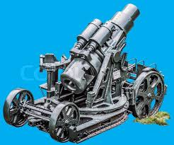 skoda siege social wwi heavy siege howitzer gun skoda 305 mm model 1911 mounted on