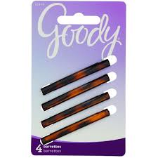 goody barrettes goody classics stay tight barrette mock tort 4 count ebay