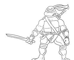 coloring page teenage mutant ninja turtles pages any 462629