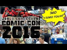 Floor 360 by Convention Floor 360 Degree Video Tour San Diego Comic Con 2016