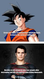 Douchebag Girlfriend Meme - good guy goku vs douchebag superman meme guy