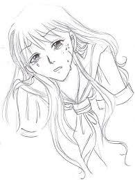 sailor moon sad minako sketch by suzakutrip on deviantart