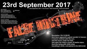 the september 23 2017 false prophecies fail revelation 12 sign