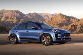 Porsche Macan Dark Blue - gallery blue topcar porsche macan gtspirit