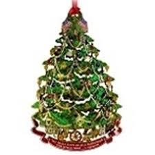 2008 official white house historical association harrison ornament