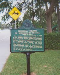 Palm Beach State Map Historical Markers In Pbc