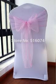 Chair Cover Sashes Wholesale Organza Chair Sashes Beautiful Wedding Partty Chair Sash