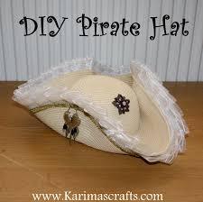 karima u0027s crafts diy pirate hat tutorial