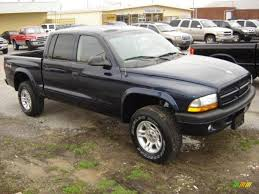 dodge dakota crew cab 4x4 for sale 2003 dodge dakota cab 4x4 in patriot blue pearl 186080