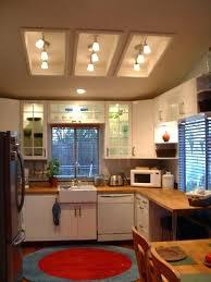 Fluorescent Kitchen Lights Replace Fluorescent Light Beautiful Recessed Kitchen Lighting