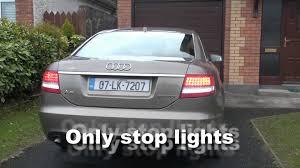 my audi a6 rear led lights