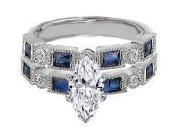 marquise cut wedding set wedding rings marquise wedding band wraps marquise