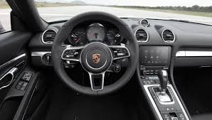 porsche black interior porsche u0027s new 718 boxster delivers big performance from a smaller