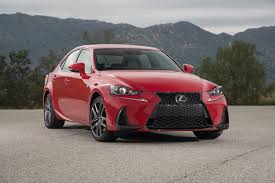 used lexus is 250 2017 lexus is 200t first test review motor trend