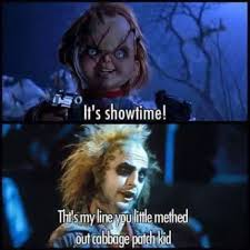 Beetlejuice Meme - chucky quotes beetlejuice follow dquocbuu like and repin it if you