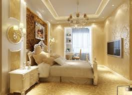 decorating gypsum ceiling room decor full design with bedside wall