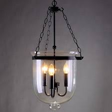 glass bell pendant light bell jar pendant ceiling light chandelier antique brass clear