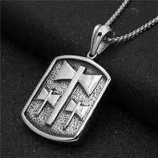 engravable dog tags for men hip hop antique color corrosion engraved axe shape stainless steel